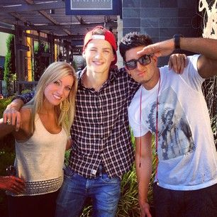 Jesse got done shooting an epic prank with @Antonin Bvo and Finn Harries @Fionnuala King Harries