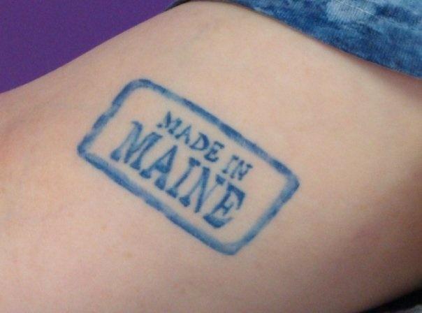 My Maine tattoo