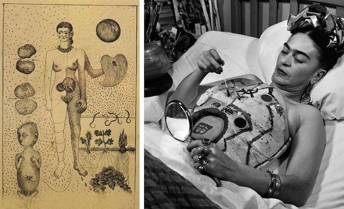 Frida Kahlo   Body Cast Printable - Pearmama