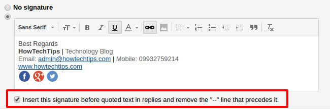 Step-by-step guide to add a signature to Gmail messages and insert images in Gmail signature