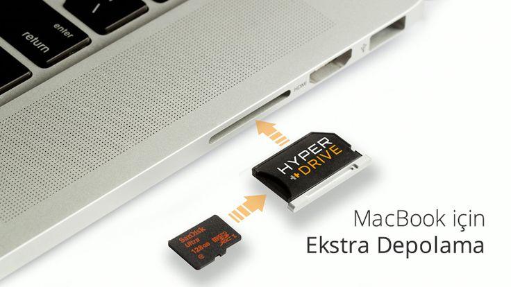 MacBook için Ekstra Depolama