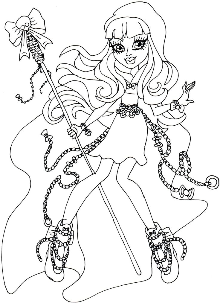clawdia wolf coloring pages - photo#8