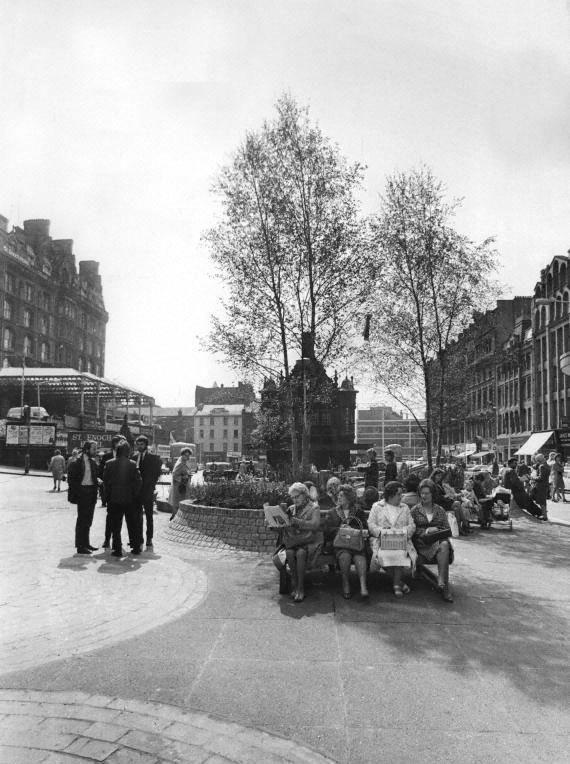 St Enoch Square, Glasgow 1972