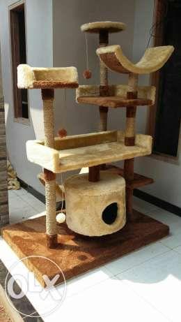 MAINAN KUCING/rumah kucing/cat scratcher/cat condo/rumah kucing/g