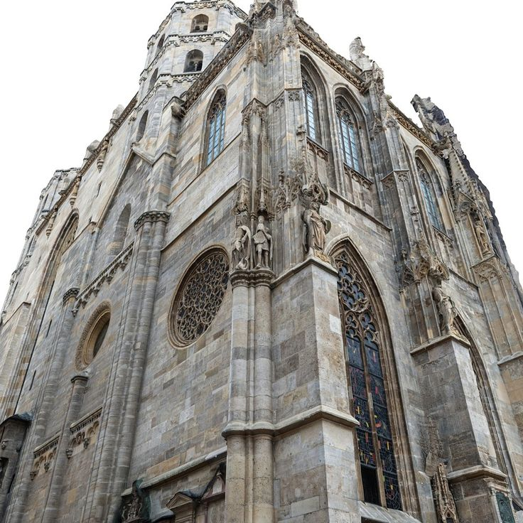 Gothic Cathedral Facade Model Available On Turbo Squid The Worlds Leading Provider Of Digital Models For Visualization Films Television And Games