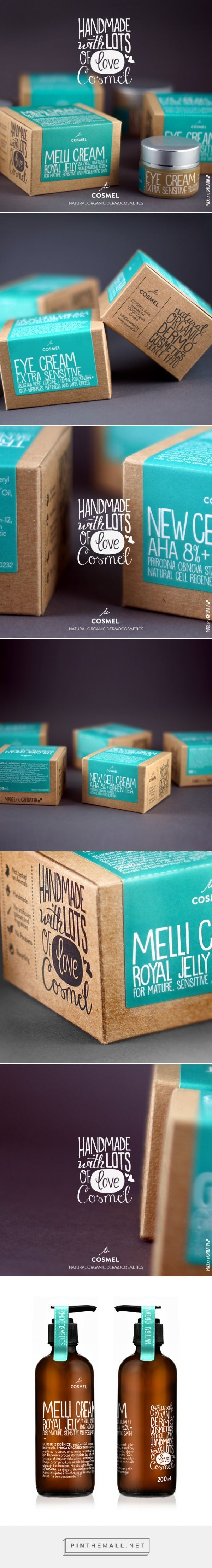 Packaging / cosmetics / COSMEL - Natural Organic Dermocosmetics / Fran Čuvalo