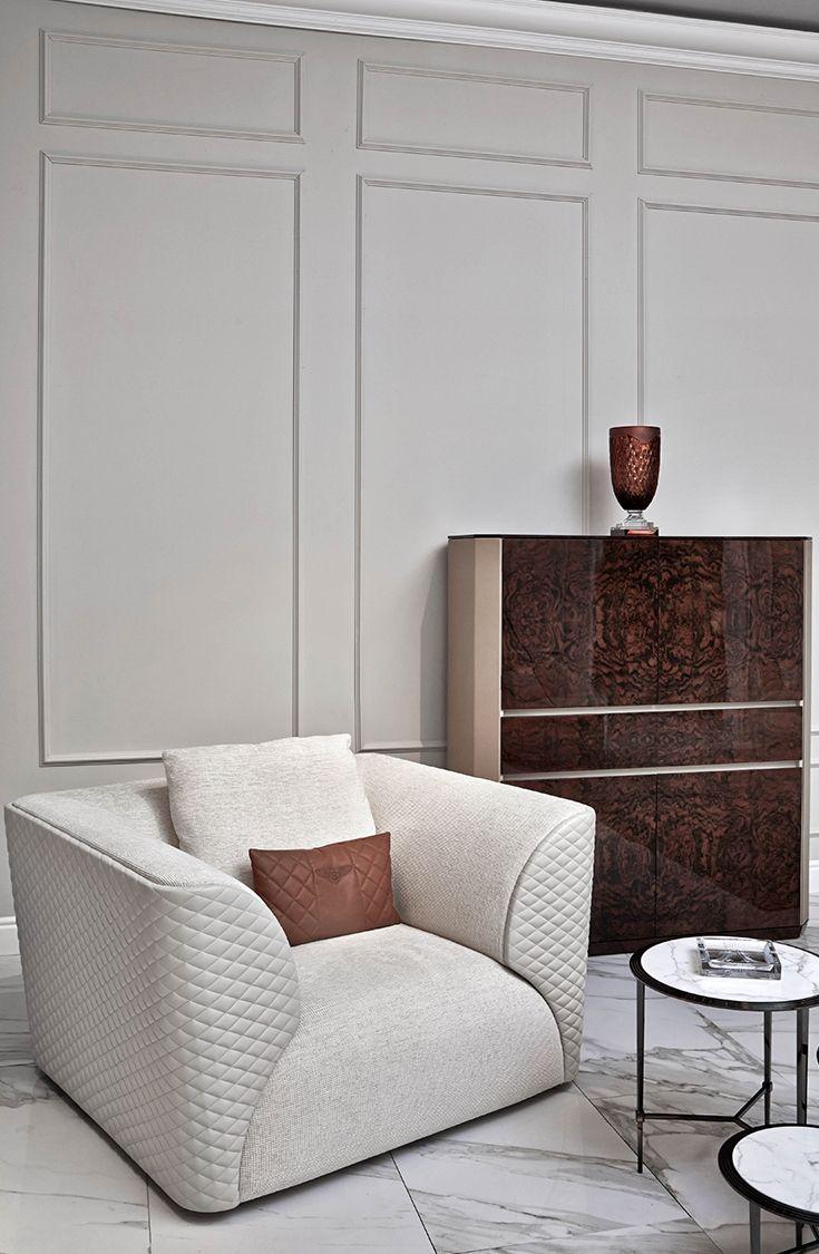 Winstonu0027 Armchair, Altonu0027 Cabinet And Austinu0027 Coffee Table For Bentley Home,