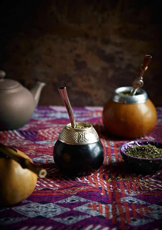 In Argentina & Uruguay it´s simply called `mate´. If you add water as you would tea & then strain it into a cup it´s called `cooked mate´ (mate cocido). In Paraguay they drink it cold & call it `tereré.