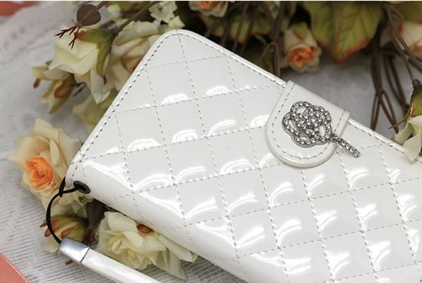 Lumiel Rose Quilting Wallet Case for Galaxy Grand 2