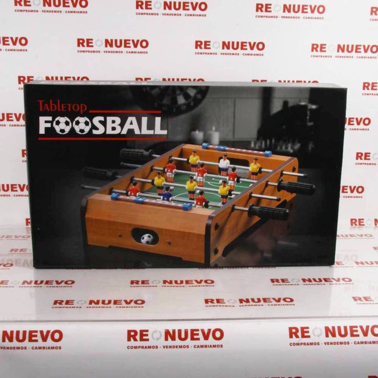 #Futbolín# en caja# de segunda mano# E271747#segundamano#
