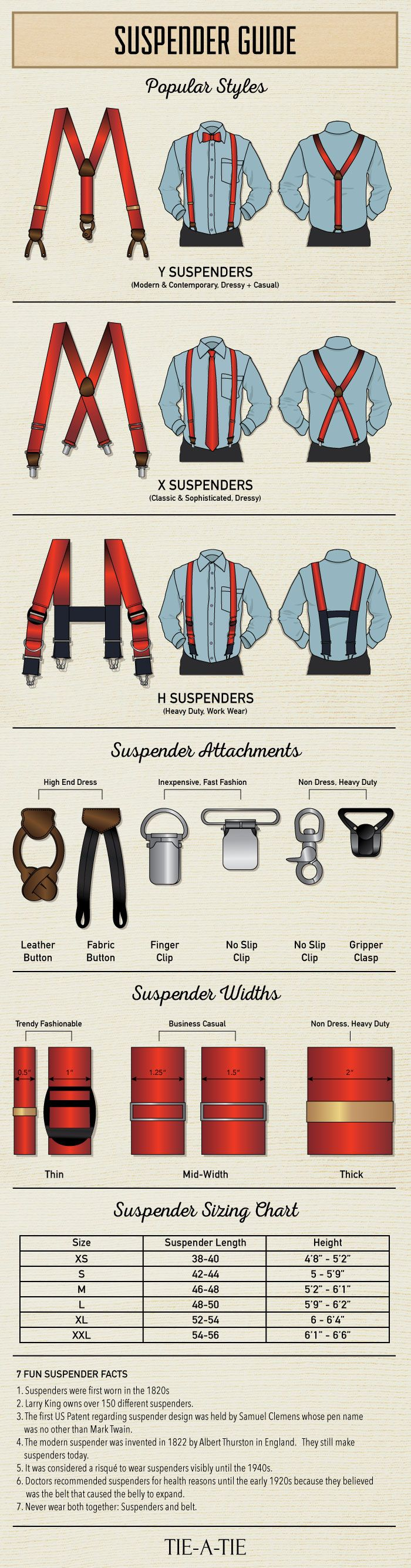 Suspenders 101: A Complete Guide to Men's Suspenders