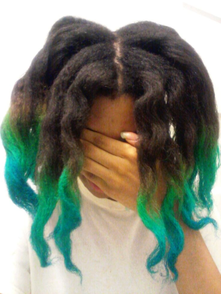 how to get green dye out of hair