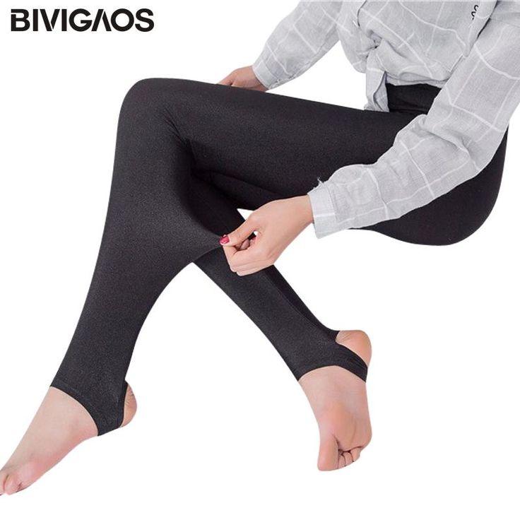 BIVIGAOS Fashion Women Stretchy Glossy Leggings Spandex Legging Elastic Gothic Foot Leggins Punk Rock Legins Black White Mallas  #leggins #fitness #gym #legging #clothing #sport #leggings #yogaday #sexyfitness #xxl #sexy #outworklegging #blacklegging #meditation #tight