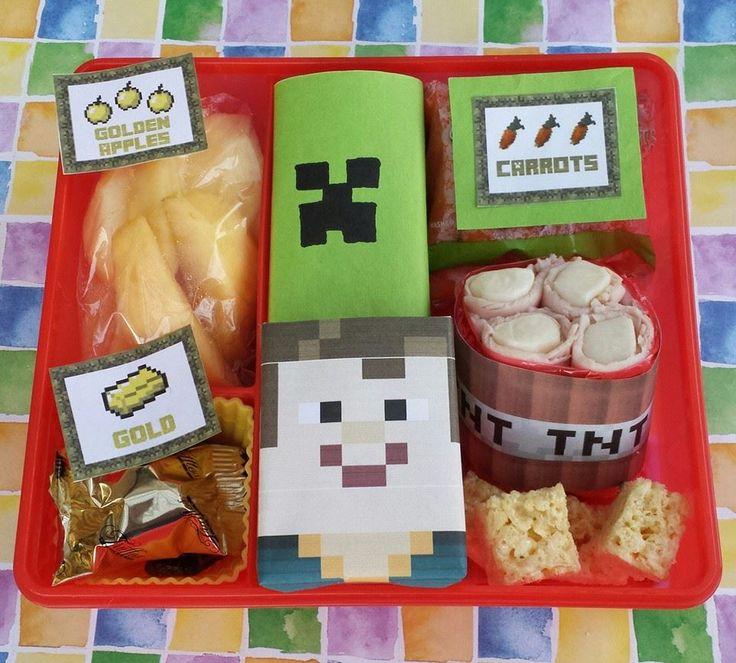 17 Best Ideas About Minecraft Lunch On Pinterest