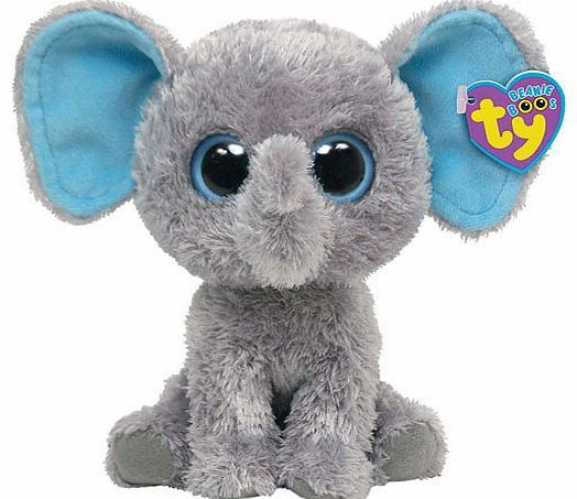 Beanie Boos Ty Beanie Boos - Peanut the Elephant The Ty Beanie Boos Peanut the Elephant never forgets to have a cuddle. Peanut is a gentle elephant with big ears and an even bigger heart. This 14cm tall soft toy makes a great addition to any Beanie  http://www.comparestoreprices.co.uk/soft-toys/beanie-boos-ty-beanie-boos--peanut-the-elephant.asp