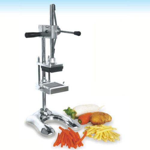 French Fry Hand Press Cutter Home Commercial Restaurant Complete Slicer Dicer