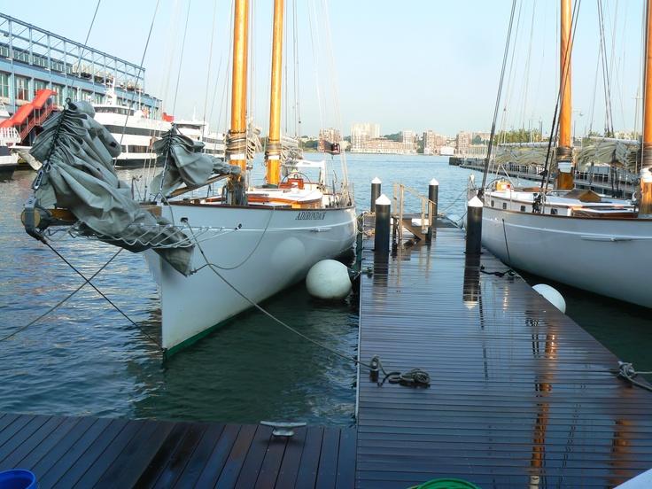 Chelsea pier 62 home of the schooner adirondack classic