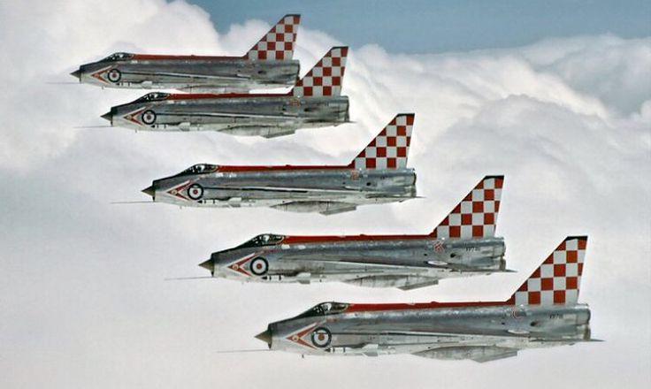 'The Firebirds': 56 Squadron Lightnings .