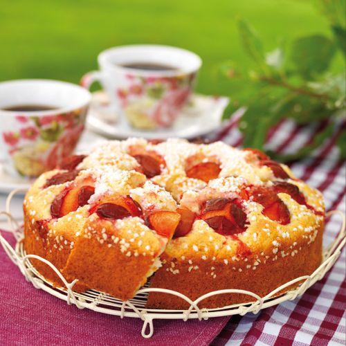Recept på Hastkaka med plommon från - Hemmets Journal