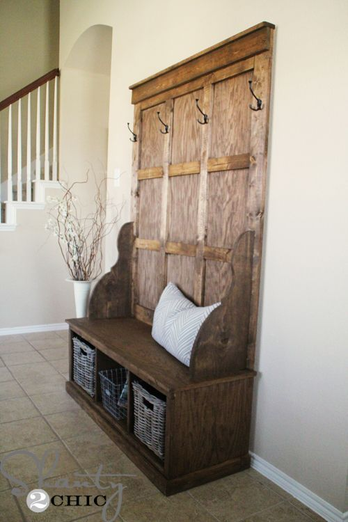 Our total cost for this build… $120!  We chose to use 1×3 for the bottom trim, and we used 1×4 and 1×3 for the top trim.  We love the rustic look, and we love that it saved even more money.