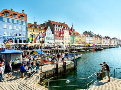 Nyhavn in Kopenhagen  - empfohlen von First Class and More