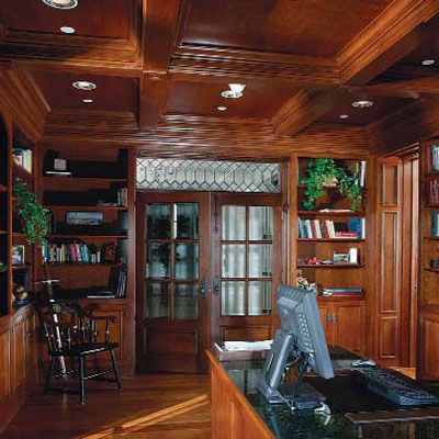 17 best ideas about coffered ceilings on pinterest wood for Wood ceiling kitchen ideas