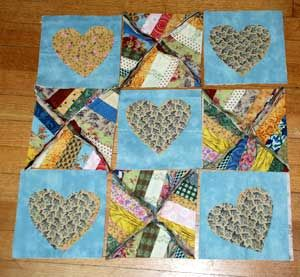 8 best rag quilt images on Pinterest | Rag quilt patterns, Country ... : string pieced rag quilt pattern - Adamdwight.com