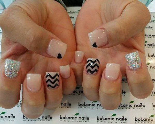 22 best ideas images on pinterest black nails elegant nails and 20 most popular nail designs nowil ideas diy nails nail designs prinsesfo Choice Image