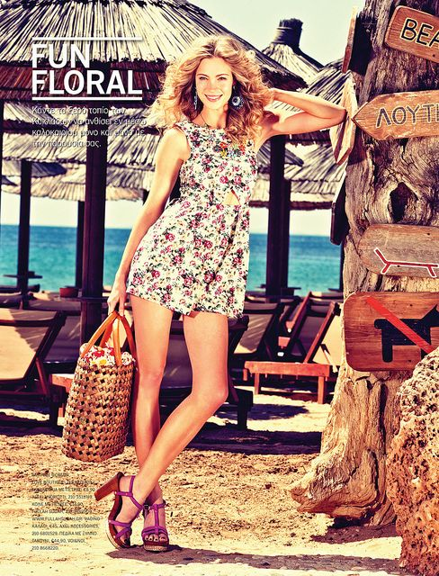 All sizes | LUCKY MAGAZINE Greece, MODEL ROXANNA REDFOOT, fashion cult agency, the campbell agency, athens greece, dallas texas, blonde, modeling, fashion, style, editorial, summer 2012, | Flickr - Photo Sharing!