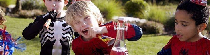 Coordinato Tavola Spiderman, festa a tema, addobbi ed accessori, feste compleanno per bambini - Palaparty S.r.l.