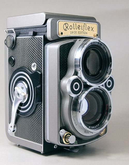 Rolleiflex 2.8 GX Helmut Newton Limited Edition Grey edition TLR medium-format camera with 80mm Planar HFT f/2.8 lens