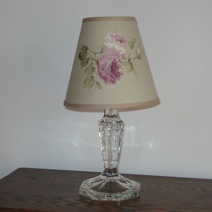 Candle Lamp Shades Shop: Freyetts Rose 5.75