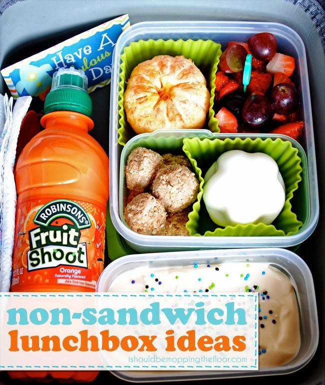 Non-Sandwich Lunchbox Ideas