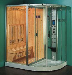 Steam Shower Sauna Combination Roma Home Improvement