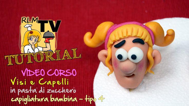 #VIDEO #CORSO: #Visi e #capelli in #pdz - Capigliatura da #bambina - tipo 4