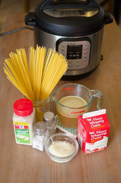 Cooking with Karli: Dump and Start Instant Pot Alfredo