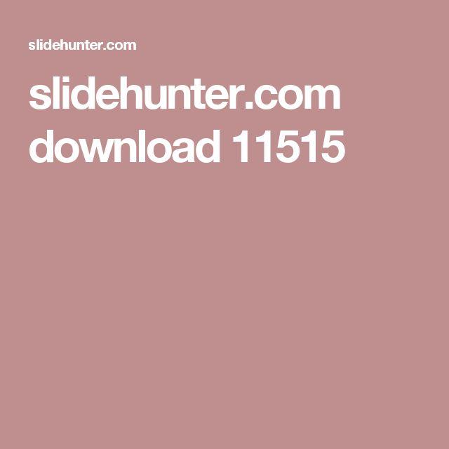 slidehunter.com download 11515