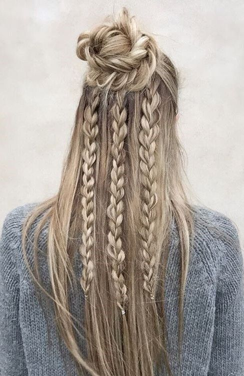 25 trending boho hairstyles ideas on pinterest boho braid boho 25 trending boho hairstyles ideas on pinterest boho braid boho hairstyles for long hair and hair knot tutorial urmus Image collections
