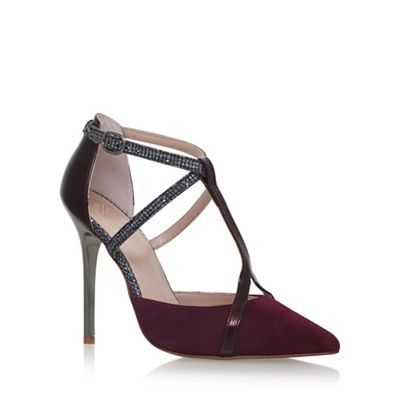 KG Kurt Geiger Red 'Bethy' high heel sandals | Debenhams
