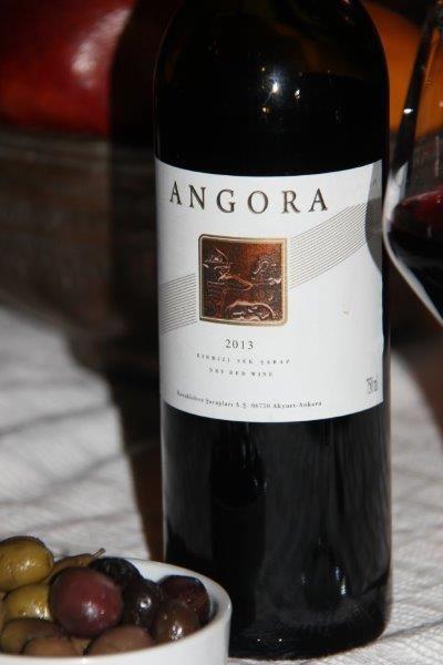 Angora Wine, turkish wine