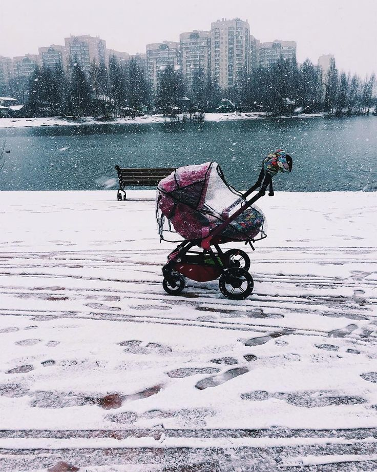 Throwback Thursday!  #seasons #winter #white #snow #raincover #wanderer #concord #babyproduct #concordwanderer #pink #repost