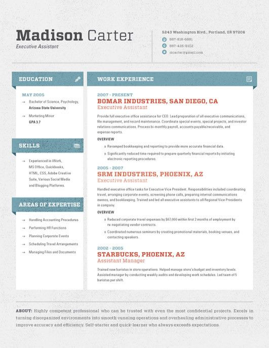 10 best Resume images on Pinterest Resume, Cv template and Resume