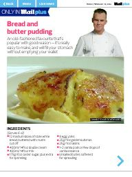 Bread and butter pudding, Puddings and Breads on Pinterest