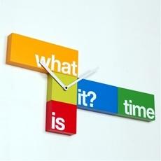 WHAT TIME  by  Progetti, design: Alberto Sala