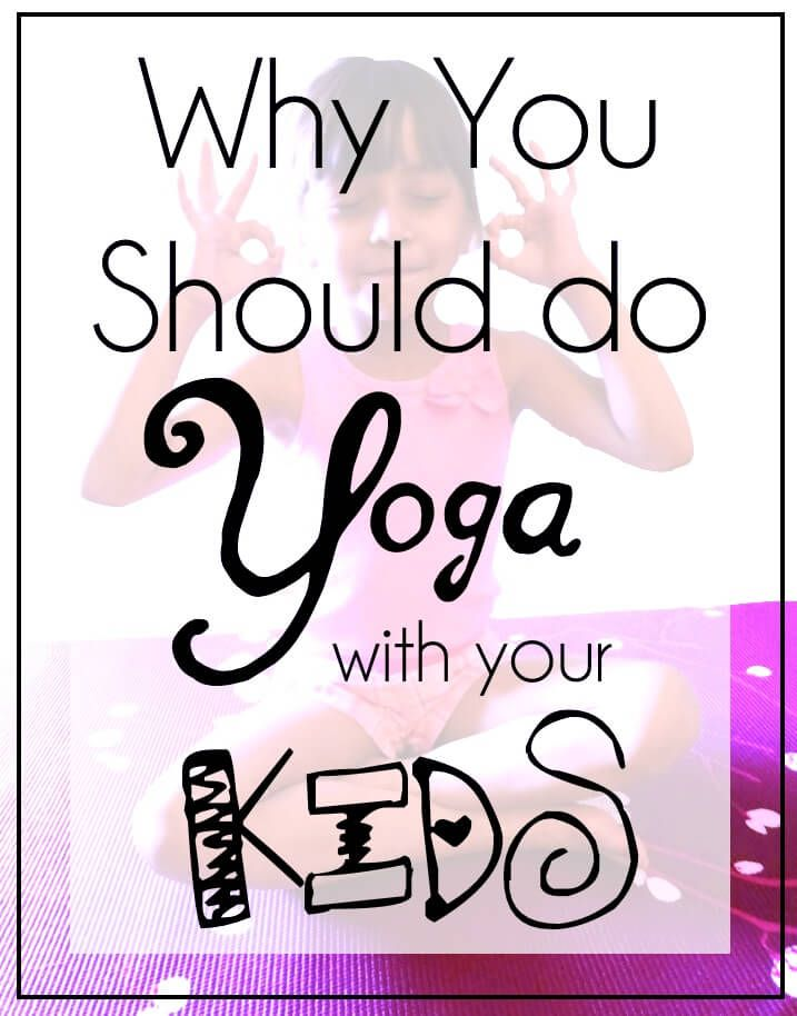 Yoga for Kids: this simple, yet effective 10 minute routine will be fun for both kids and parents alike! Photo instructions included.