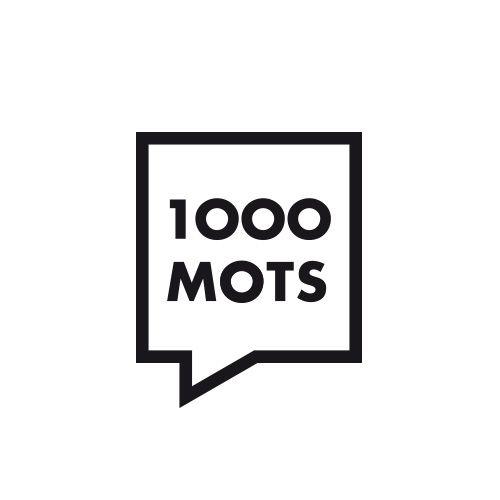 Création du logo 1000 mots