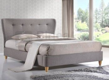 Fabric Upholstered Bed Frames | UK Bed Store