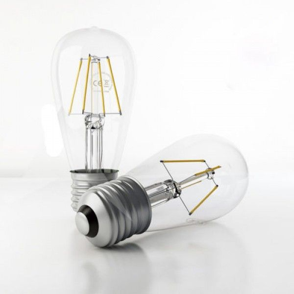 LED Globes Bulb Clear Long Life 5 or 10 pieces