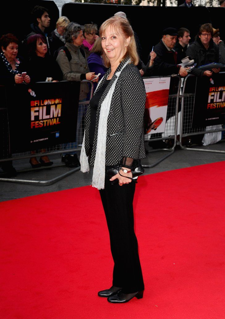 Pin for Later: That's a Wrap! See All the Stars Who Ditched Hollywood For the London Film Festival Ruth Sheen Ruth came out for the screening of Mr Turner.