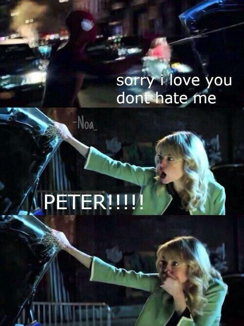 The Amazing Spider-Man 2, Gwen and Peter
